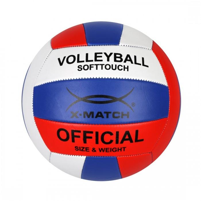 Мячи X-Match Мяч волейбольный 1,6 PVC 56457 мячи x match мяч футбольный 1 слой pvc 56465