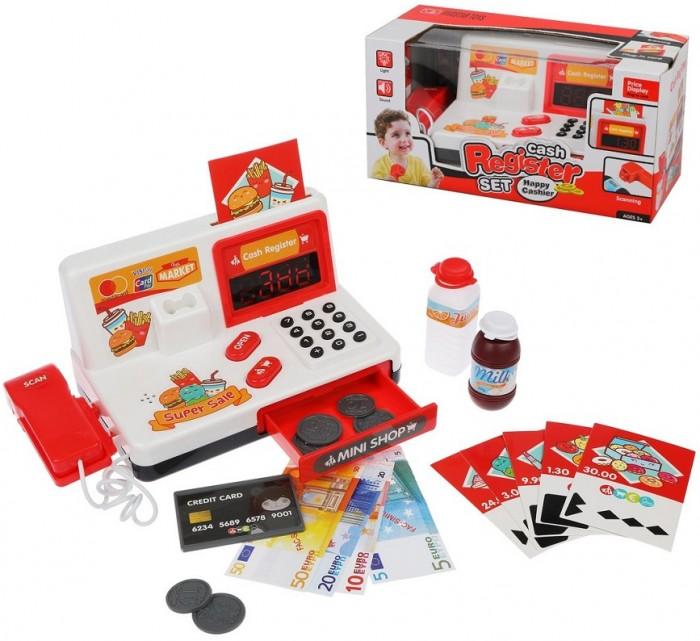 Купить Ролевые игры, Наша Игрушка Игровой набор Касса (12 предметов)