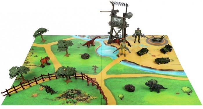 Купить Игровые наборы, Наша Игрушка Игровой набор Солдаты и Динозавры