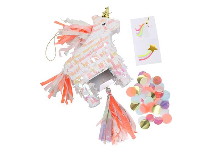 Купить Товары для праздника, MeriMeri Сувенир мини-пиньята Единорог