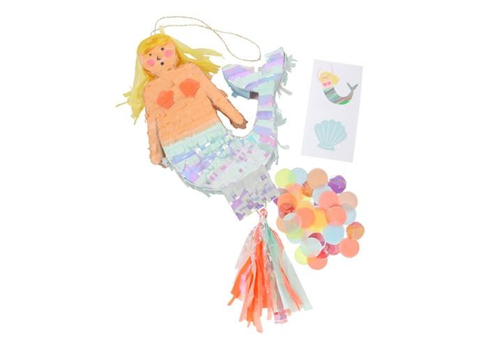Купить Товары для праздника, MeriMeri Сувенир мини-пиньята Русалочка