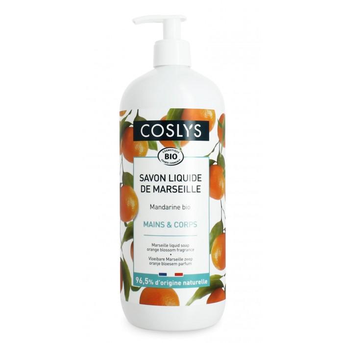 Косметика для мамы Coslys Марсельское жидкое мыло Мандарин 1000 мл