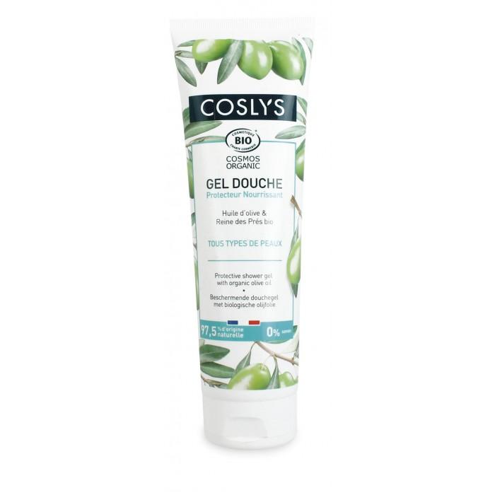 Купить Косметика для мамы, Coslys Гель для душа для защиты и восстановления Органическая Олива 250 мл