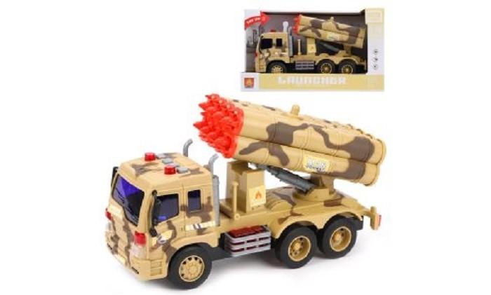 Машины Наша Игрушка Военная машина инерционная 1:16
