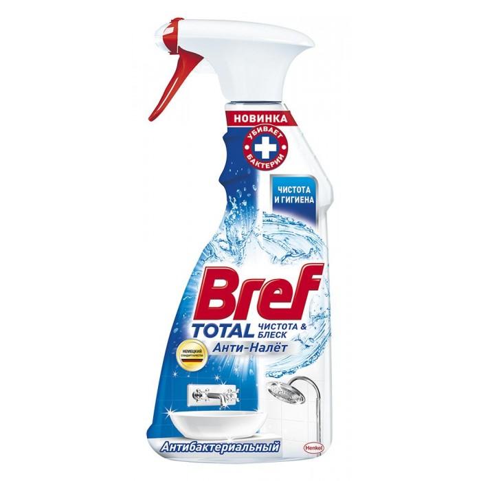 Бытовая химия Bref Чистящее средство для ванной комнаты Тотал Анти-налет Антитабак 500 мл матрикс тотал резалтс маска