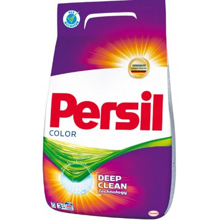 Бытовая химия Persil Стиральный порошок для цветного белья Колор 3 кг бытовая химия lv концентрированный стиральный порошок для цветного белья 1 6 кг