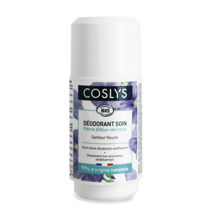 Купить Косметика для мамы, Coslys Шариковый дезодорант кристалл Полевые цветы 50 мл