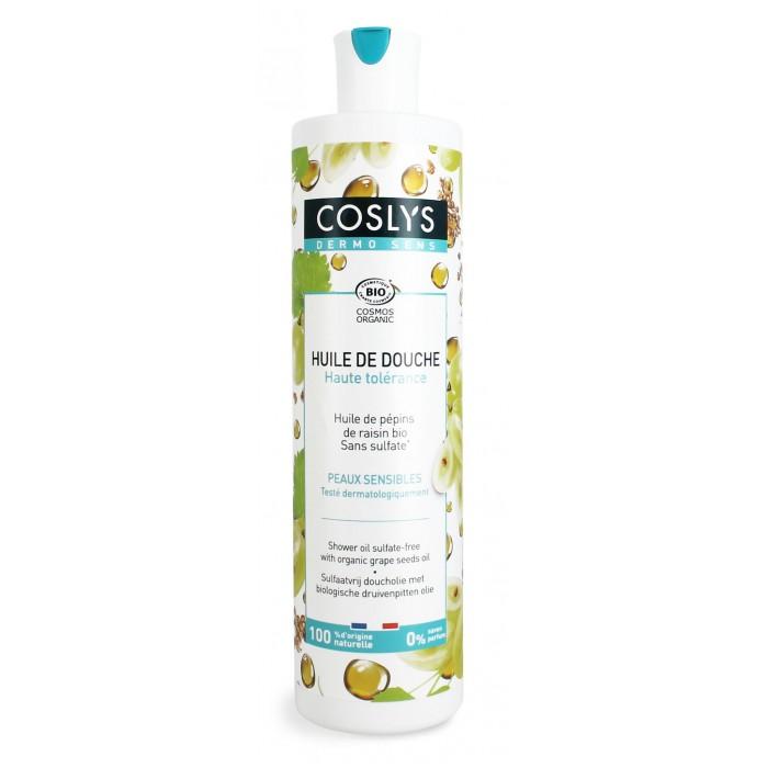 Coslys Гель для душа гипоаллергенный масляный с органическим маслом виноградной косточки 380 мл фото
