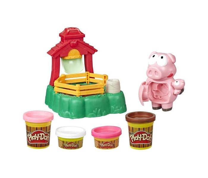 Play-Doh Hasbro Набор для лепки Озорные поросята