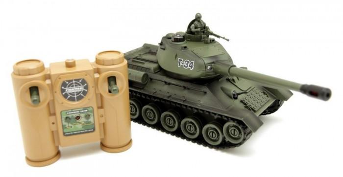 Радиоуправляемые игрушки Balbi Танк Т-34 на радиоуправлении balbi crawler на радиоуправлении зеленый 1 18
