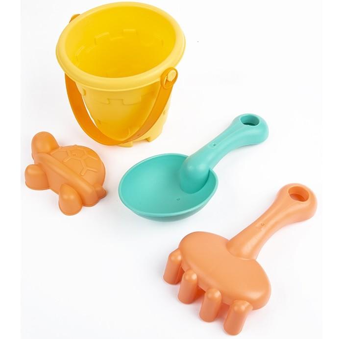 Фото - Игрушки в песочницу Maxitoys Набор для песочницы: ведёрко, лопатка, грабельки и формочка полесье набор игрушек для песочницы 468 цвет в ассортименте