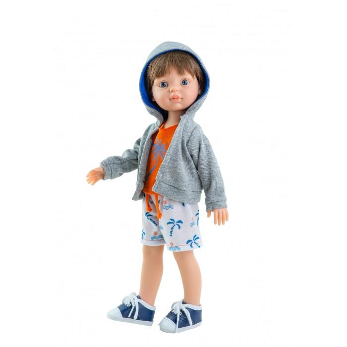 Куклы и одежда для кукол Paola Reina Кукла Висент 32 см