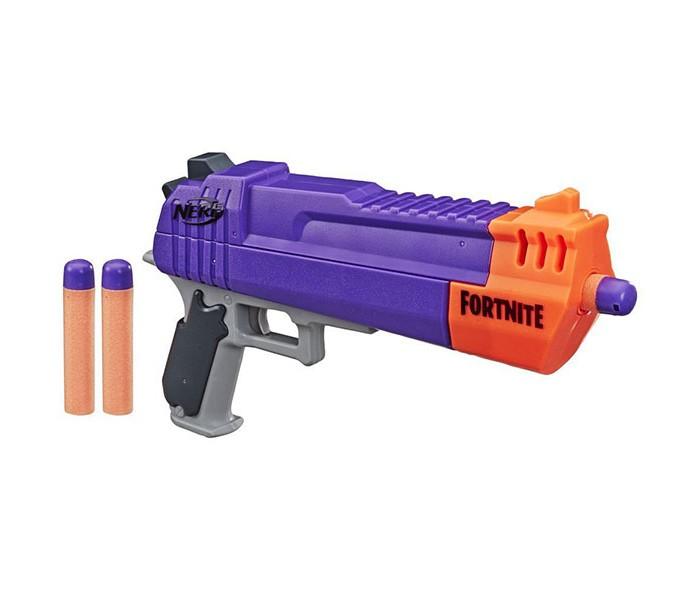 Игрушечное оружие Nerf Hasbro бластер Фортнайт Револьвер hasbro бластер nerf mega бульдог