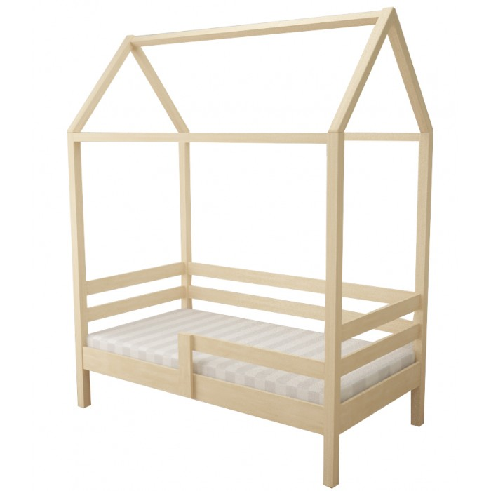 Кровати для подростков Forest домик Primavera неокрашенная 160х80