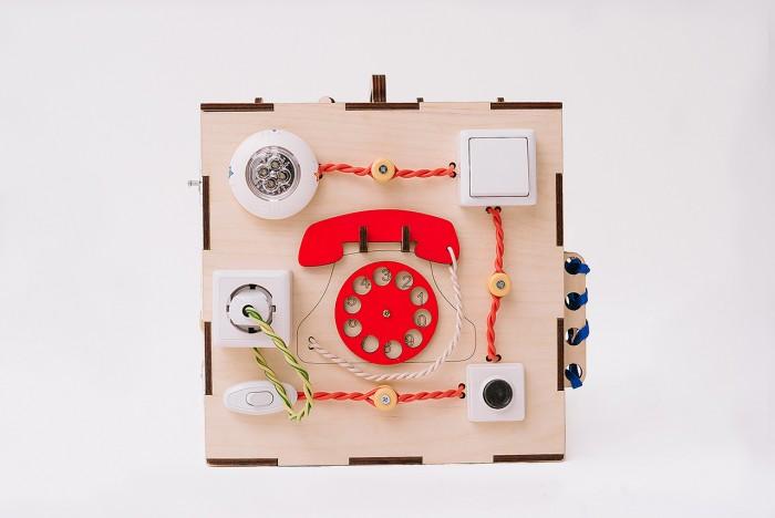 Купить Деревянная игрушка Бизикуб Домашние животные и геометрические фигуры с розеткой и телефоном в интернет магазине. Цены, фото, описания, характеристики, отзывы, обзоры