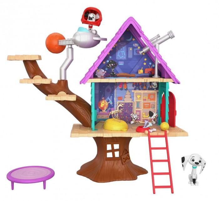 Купить Игровые наборы, Mattel Игровой набор 101 Dalmatians Домик на дереве