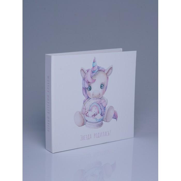 Фото - Фотоальбомы и рамки Miaworkstudio Первый альбом малышки Звезда родилась подушка звезда с помпончиками