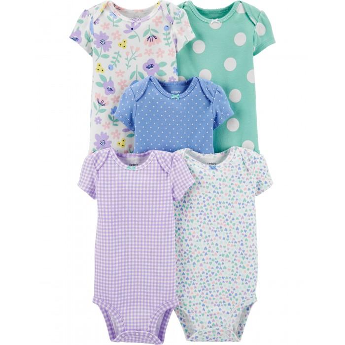 Купить Carter s Боди для девочки 5 шт. 1H357510 в интернет магазине. Цены, фото, описания, характеристики, отзывы, обзоры