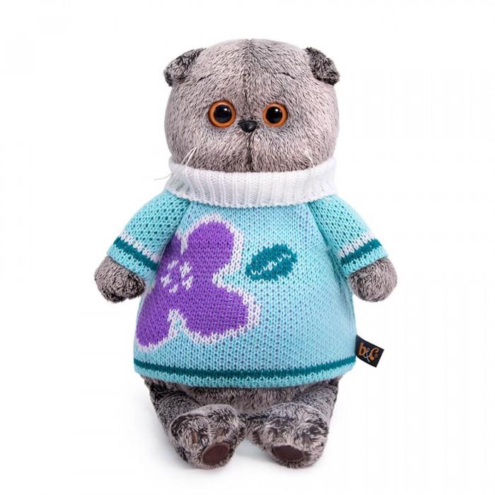 Мягкие игрушки Budi Basa Басик в весеннем свитере 25 см