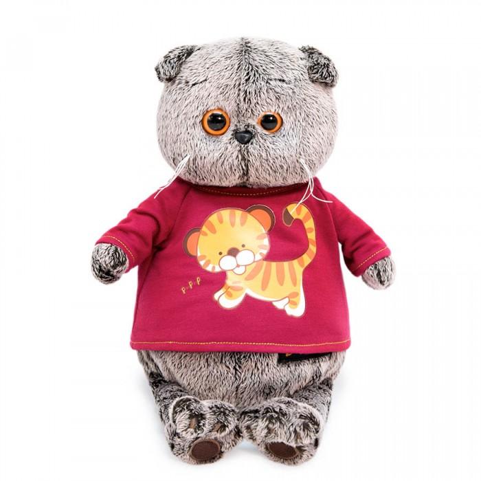 Мягкие игрушки, Мягкая игрушка Budi Basa Басик в футболке с принтом Тигренок 25 см  - купить со скидкой