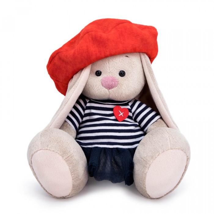 Купить Мягкие игрушки, Мягкая игрушка Budi Basa Зайка Ми в тельняшке и берете 23 см