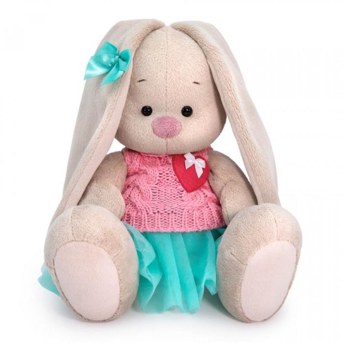 Купить Мягкие игрушки, Мягкая игрушка Budi Basa Зайка Ми в юбке и вязаном жилете 18 см