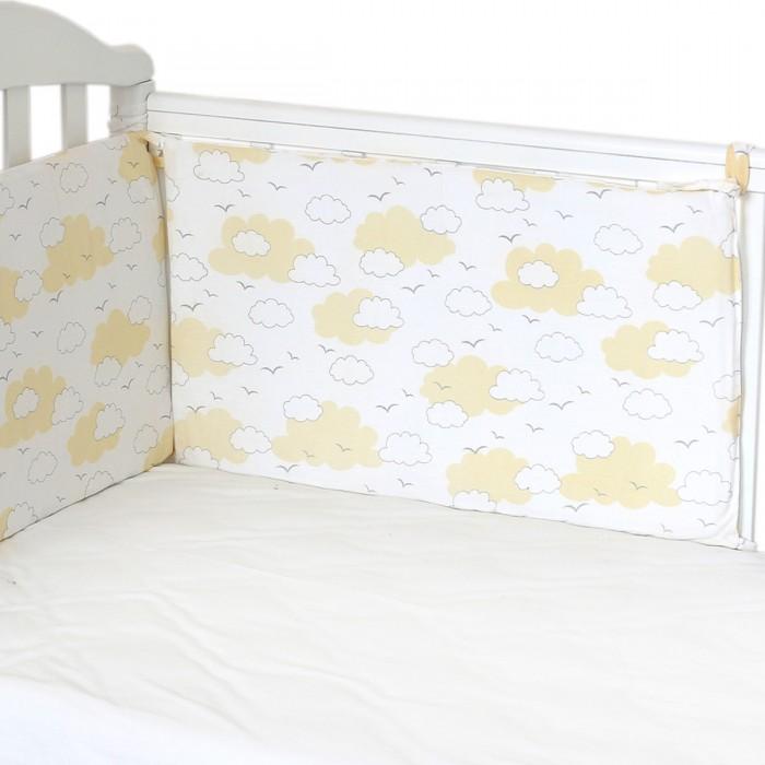 Купить Бортик в кроватку Baby Nice (ОТК) Облака (полуборт) в интернет магазине. Цены, фото, описания, характеристики, отзывы, обзоры