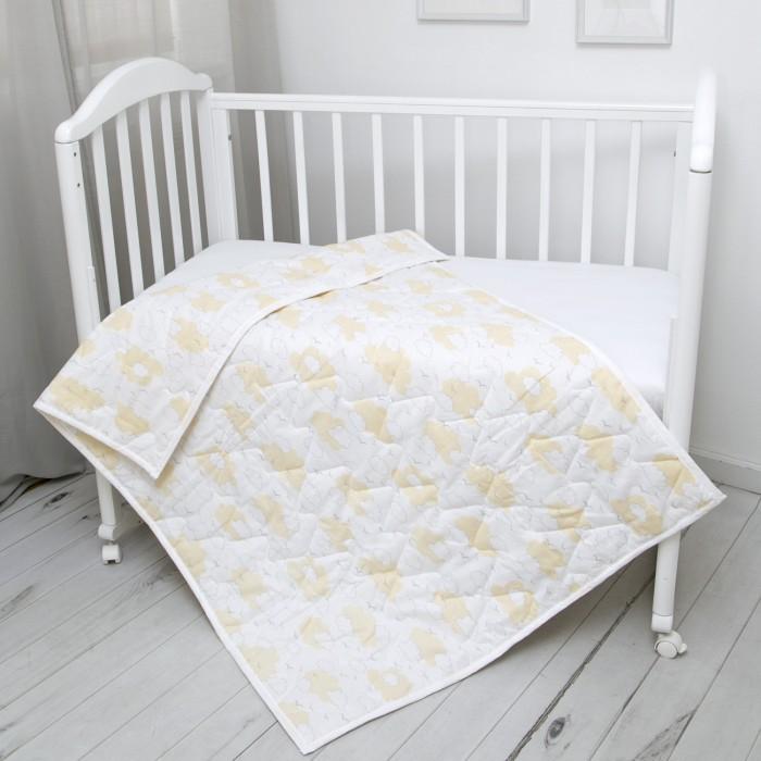 Картинка для Одеяло Baby Nice (ОТК) стеганое Облака 105 х 140 300 гр.