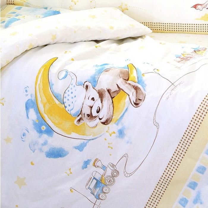 Комплект в кроватку Baby Nice (ОТК) Мишка на луне