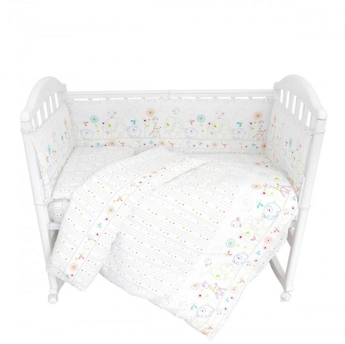 Комплекты в кроватку Baby Nice (ОТК) Саванна 9 предметов