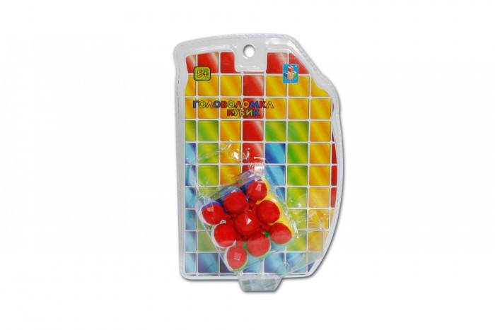 Настольные игры 1 Toy Головоломка кубик 3D 3x3 6 см