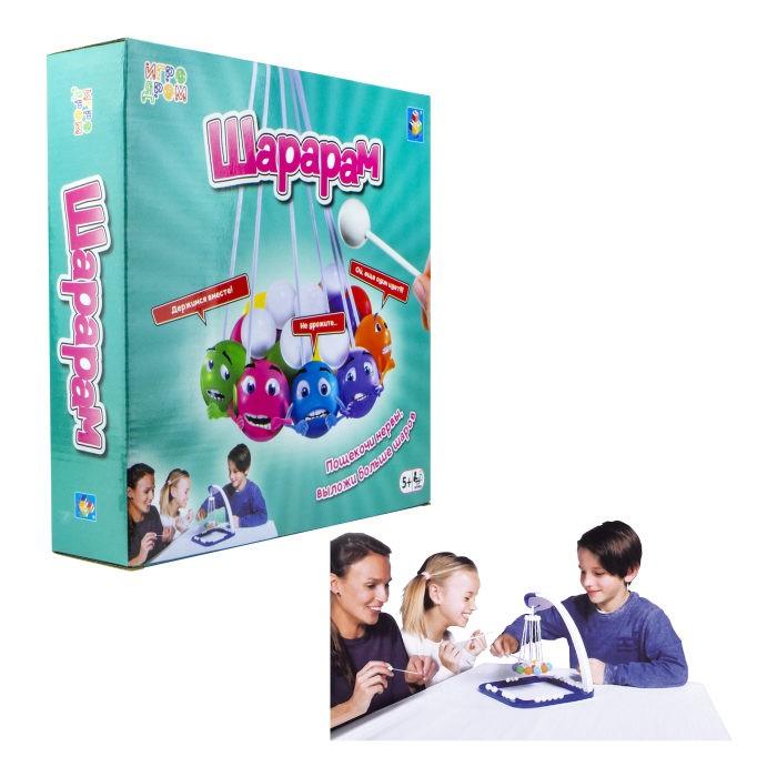 Фото - Настольные игры 1 Toy Игродром настольная игра Шарарам настольная игра 1 toy игродром логические опыты