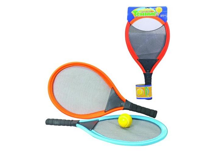 Купить Спортивный инвентарь, 1 Toy Набор для тенниса с мягкими ракетками и мячиком