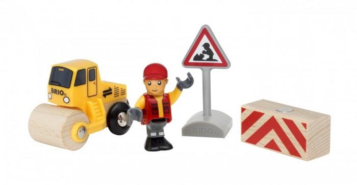 Купить Игровые наборы, Brio Игровой набор Дорожные работы (4 элемента)