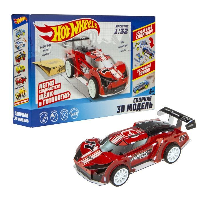 Сборные модели 1 Toy Hot Wheels Сборная модель Super Blitzen