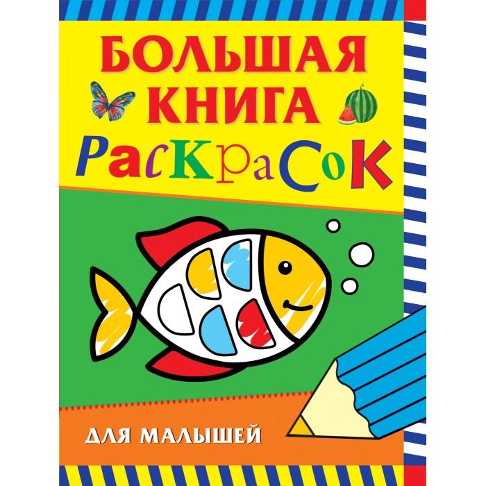 Раскраски Росмэн Большая книга для малышей недорого
