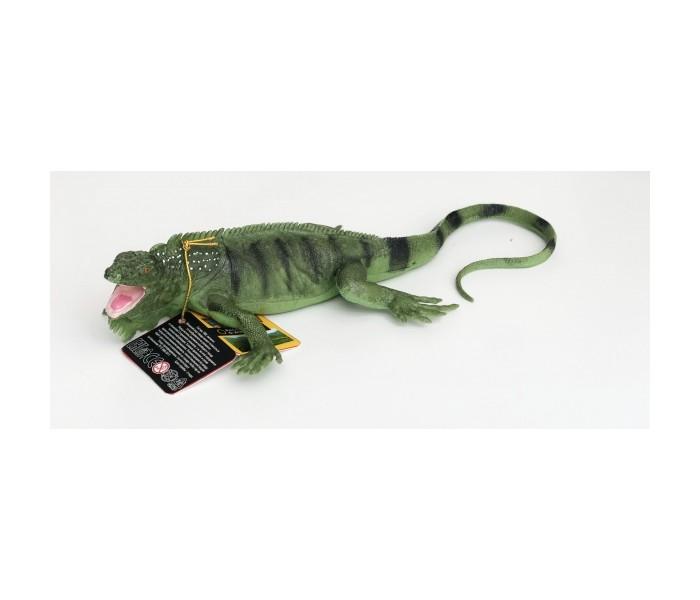Игровые фигурки Играем вместе Пластизоль Гаттерия 27,5см игрушка пластизоль играем вместе динозавры 5см 8ассорти 2скелета туба высокая в кор 6 24шт