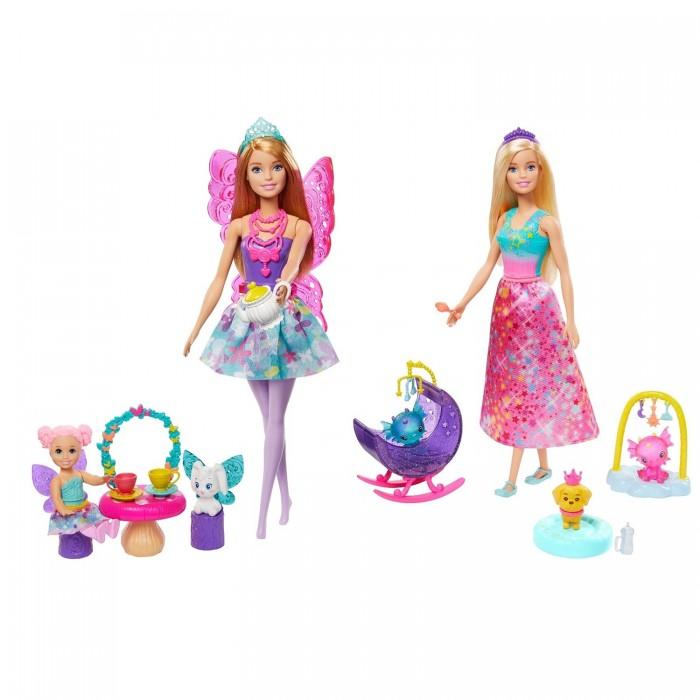 Куклы и одежда для кукол Barbie Игровой набор Заботливая принцесса