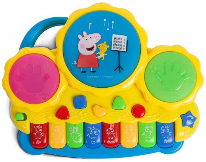 Музыкальные инструменты Свинка Пеппа (Peppa Pig) Пианино с барабанами