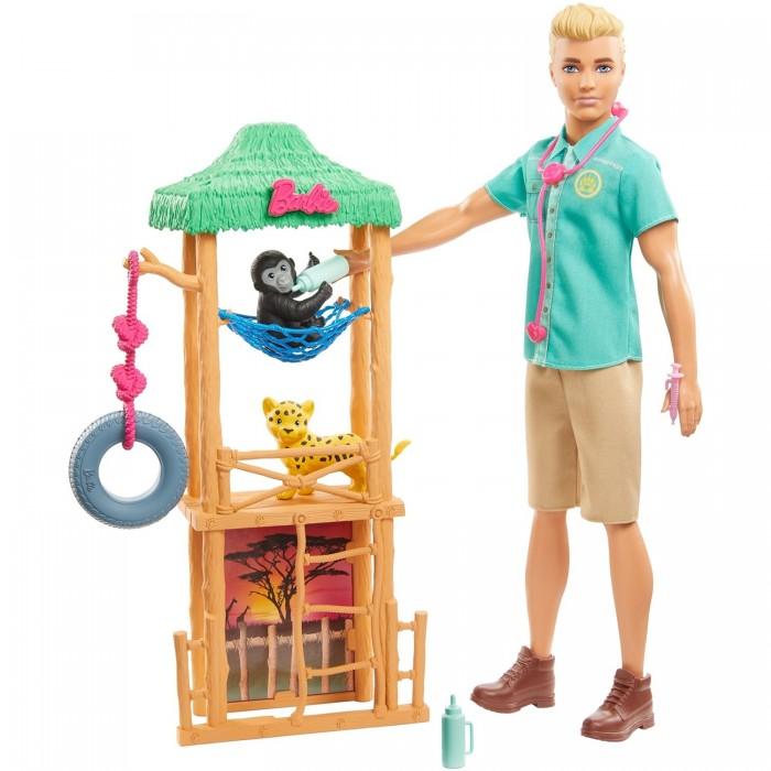 Куклы и одежда для кукол Barbie Игровой набор с Кеном