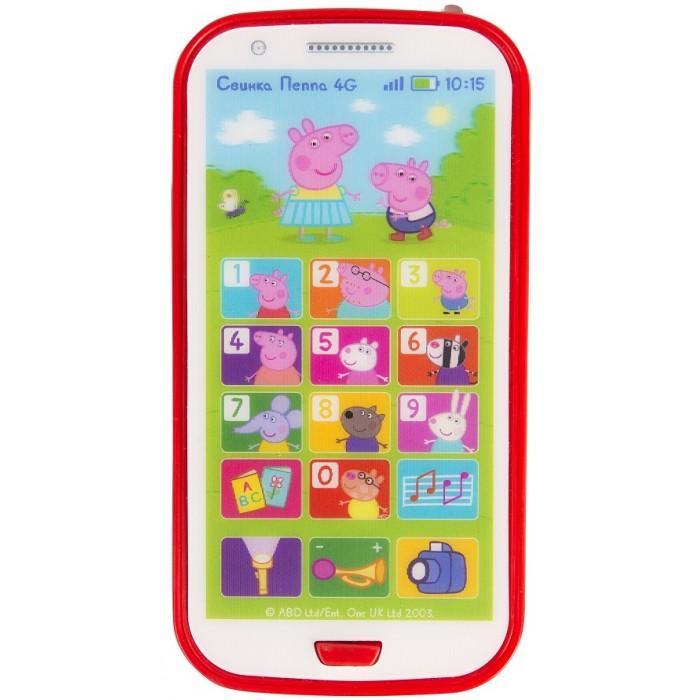 Электронные игрушки Свинка Пеппа (Peppa Pig) Игрушечный телефон телефон