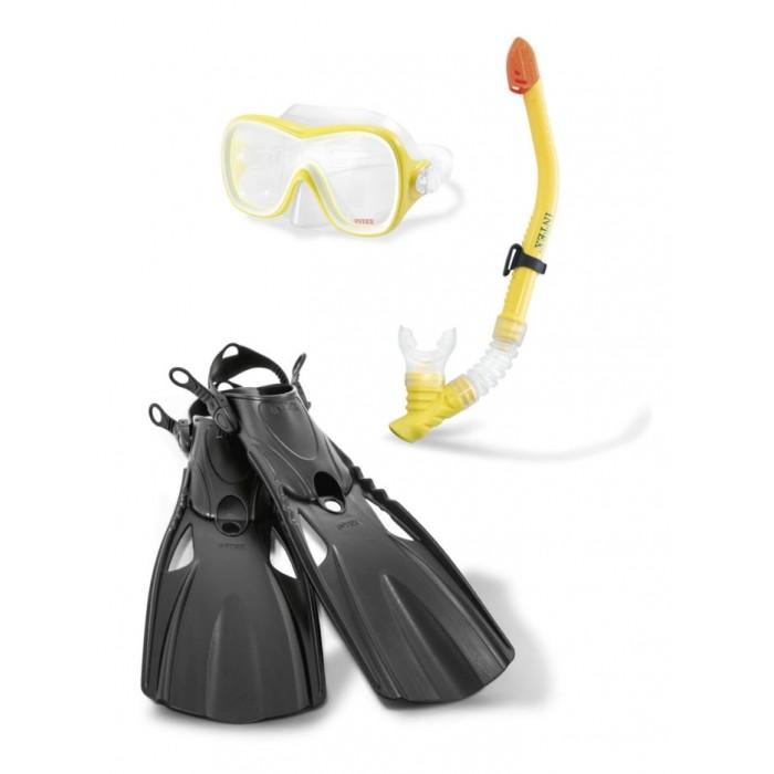 Intex Плавательный набор маска трубка ласты с55658 от Intex