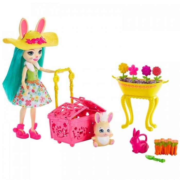Фото - Куклы и одежда для кукол Enchantimals Игровой набор Бри Кроля в саду origami набор для создания украшений origami enchantimals бри кроля и твист