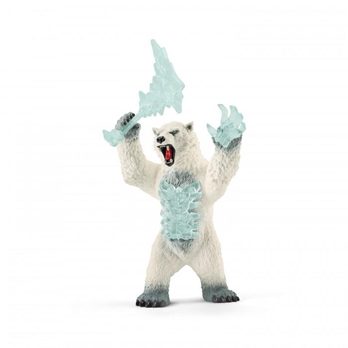 Картинка для Schleich Фигурка Снежный медведь с оружием