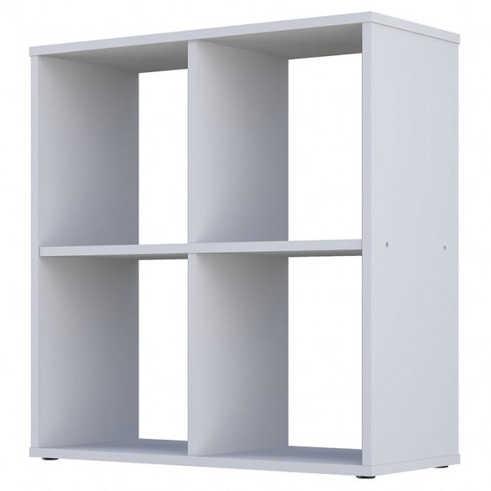 Купить Шкаф Polini стеллаж Home Smart кубический 4 секции в интернет магазине. Цены, фото, описания, характеристики, отзывы, обзоры