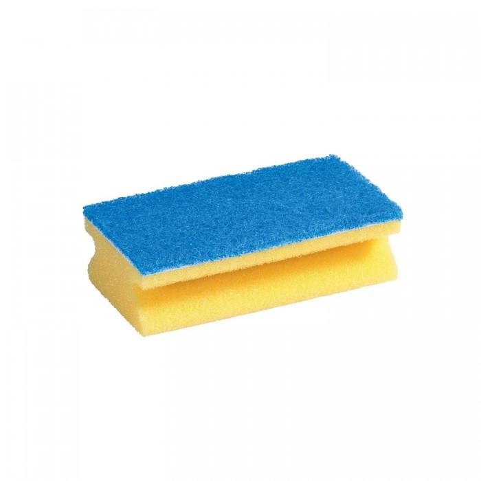 губка для мытья посуды vileda inox металлическая 2 шт Хозяйственные товары Vileda Губка для ванной комнаты Глитцы Джамбо 1 шт.