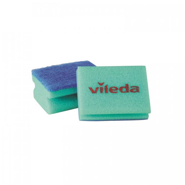 Хозяйственные товары Vileda Губка для посуды Глитци 2 шт. губка для мытья посуды celesta волна 5 шт