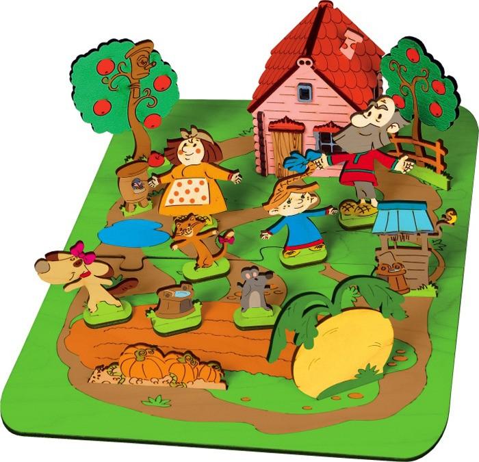 Купить Деревянные игрушки, Деревянная игрушка Знаток Конструктор Создай свою сказку Репка