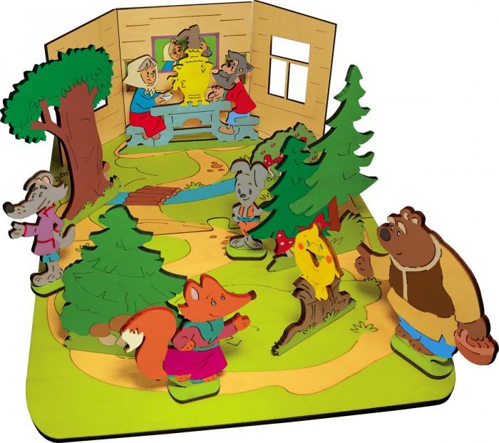 Купить Деревянные игрушки, Деревянная игрушка Знаток Конструктор Создай свою сказку Колобок