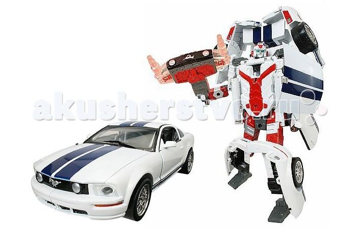 Машины Happy Well Трансформер-машина Ford FR 500C Mustang 1:24 машины happy well трансформер машина ford gt 1 32